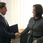 Ministarka i predsednik Udruženja proizvođača mleka